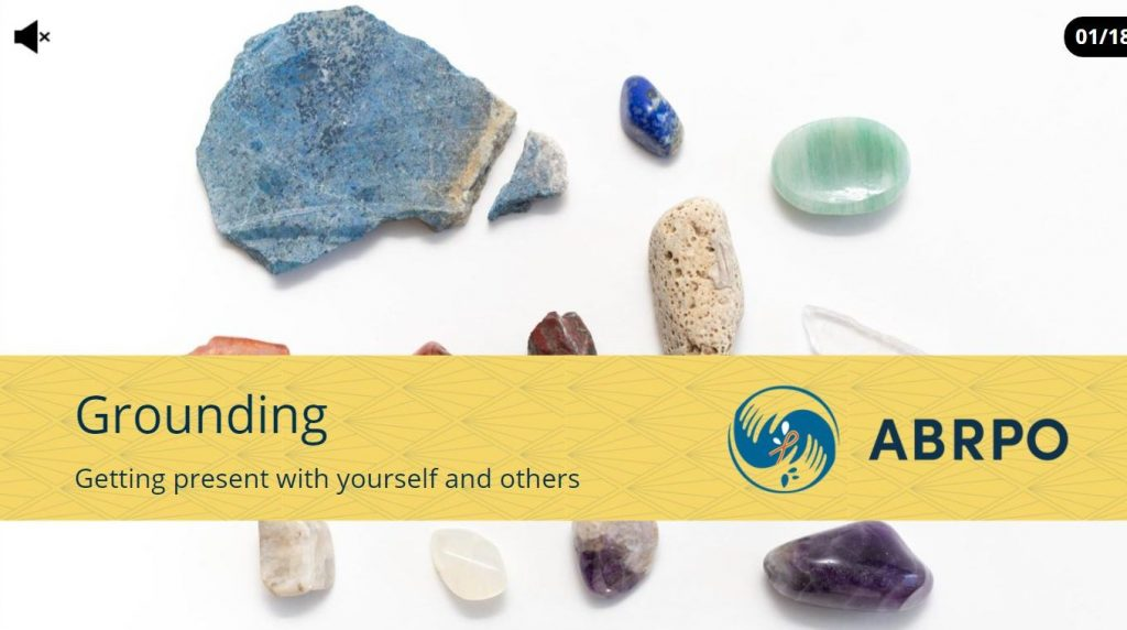 Cover page of Grounding module